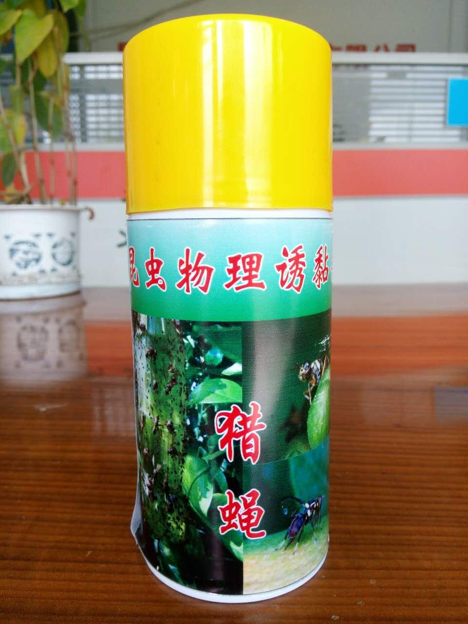 猎蝇:昆虫物理诱黏剂